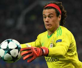 Svilar was delighted to have featured in Benfica's game at Old Trafford. GOAL