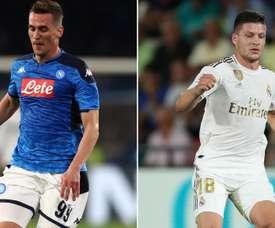 Gazzetta dello Sport - Giro di attaccanti: Milik al Milan, Jovic al Napoli