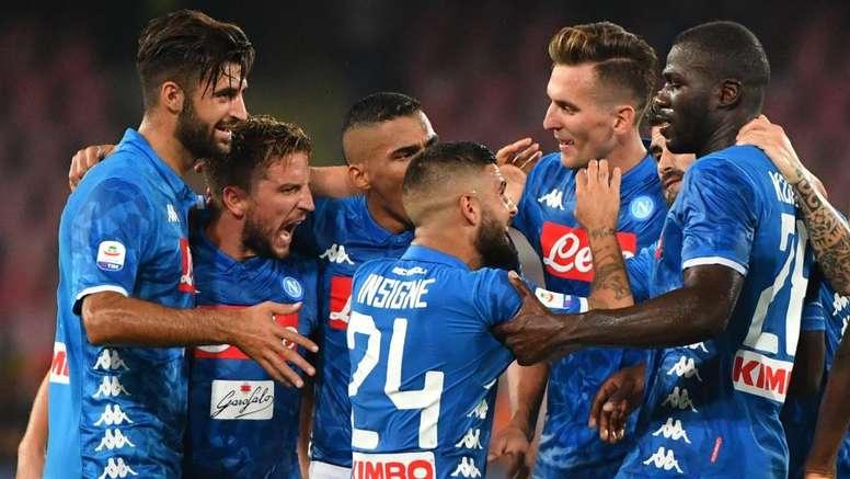 Il Napoli cerca l'impresa. Goal