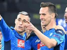Le formazioni ufficiali di Napoli-Parma. Goal