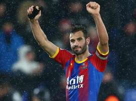 Milivojevic's excellent long-range strike in the first half secured the win for Palace. GOAL