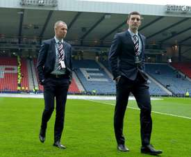 Miller and Wallace have been suspended by Rangers. GOAL