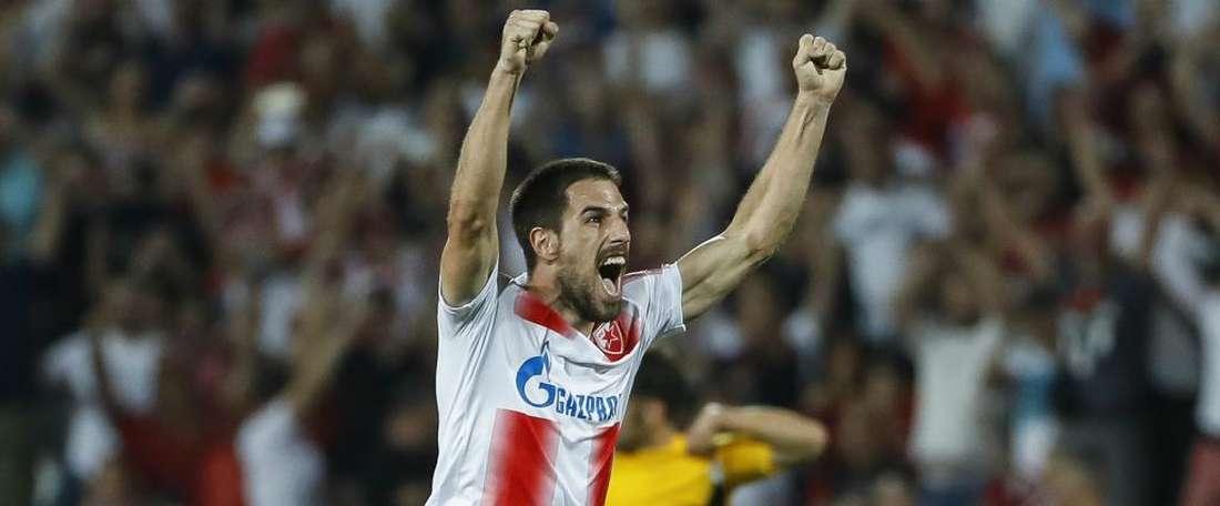 Red Star Belgrade's Milos Degenek has achieved a lot in the past year. GOAL