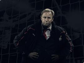 Dur souvenir pour le coach. Goal
