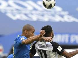 Miranda foi o 'xerifão' do Brasil contra a Costa Rica. Goal