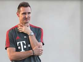 Miro Klose, ex giocatore di Bayern e Lazio. Goal