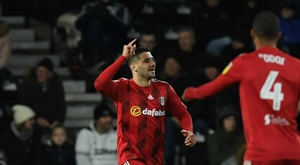 Derby County 1-1 Fulham: Rooney goal on landmark appearance not enough for Rams. Goal