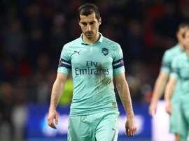 Koscielny slams UEFA after Mkhitaryan withdrawal.