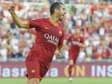 Dzeko hopes Mkhitaryan stays at Roma after goalscoring debut.