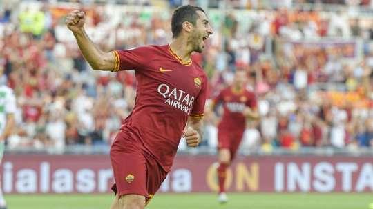 Dzeko hopes Mkhitaryan stays at Roma after goalscoring debut.