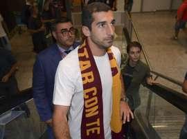 Mkhitaryan will be joining Roma on loan. GOAL