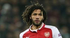 Arsenal midfielder Elneny joins Besiktas on season-long loan. GOAL