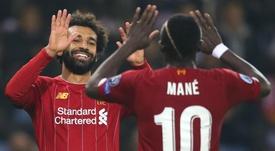 Mané has hailed Salah and Firmino. GOAL