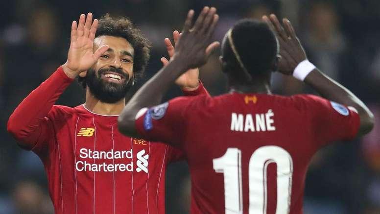 Salah, Mane and Aubameyang on CAF shortlist for POTY award. GOAL