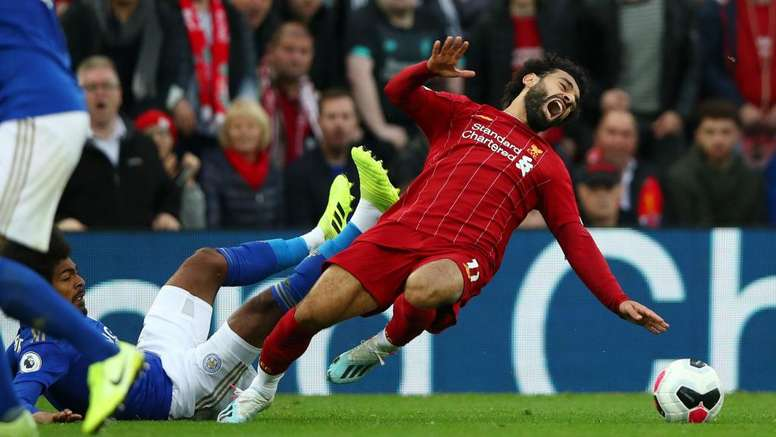 Salah got injured. GOAL