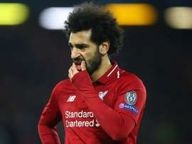 Mo Salah will be looking to strike again as Liverpool travel to Porto on Wednesday. GOAL.