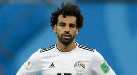 Salah reçoit du soutien. Goal