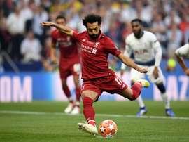 Gol de Salah é o 3º mais rápido em finais de Champions. Goal