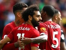 Sadio Mané et Liverpool ne fléchissent pas. AFP