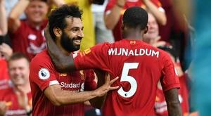 Salah et les Reds dominent les Gunners. Goal