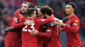 Sans séduire, les Reds continuent d'engranger. AFP