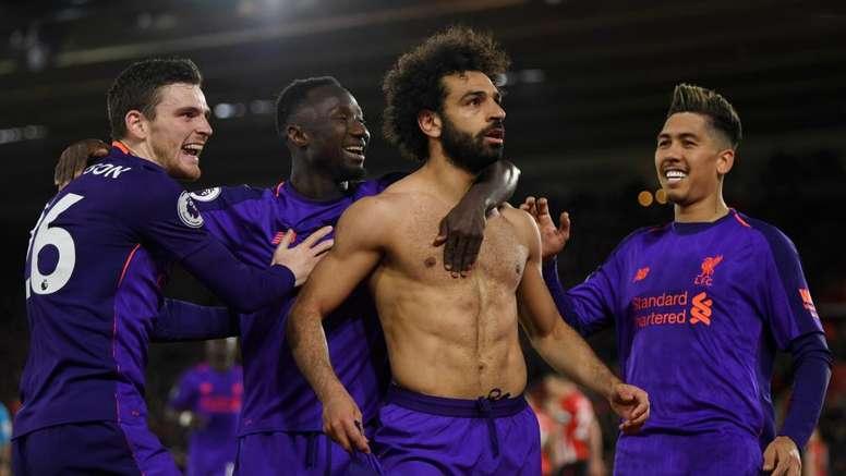 Mohamed Salah libère Liverpool. Goal
