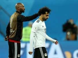 Salah is set to start for Egypt. GOAL