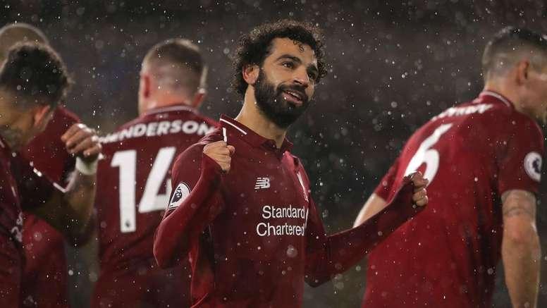 Salah was injured. GOAL
