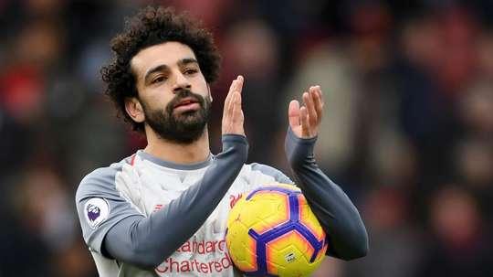 Salah is shortlisted again. GOAL