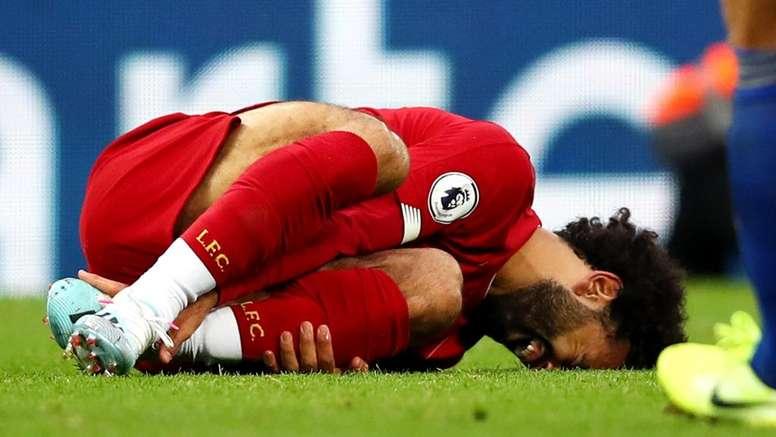 Liverpool waiting on Salah news as Klopp fumes at Choudhury challenge. GOAL