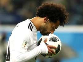 Salah hopes to lead his teams to victory. GOAL