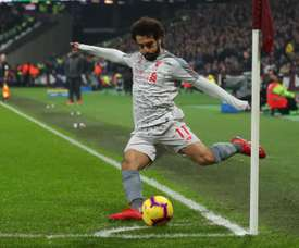 Salah target of racist abuse at West Ham. GOAL