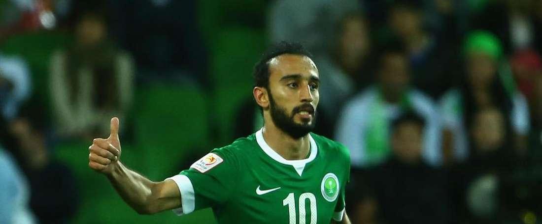 Manchester United 'trial' for Saudi striker Al-Sahlawi. Goal