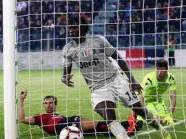 Moise Kean scored the winner for Juventus yesterday. GOAL