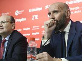 Ever Banega says Monchi's return is good for the club. GOAL