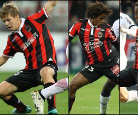 Montage de Koziello, Marcel et Lusamba sous le maillot de Monaco. Goal