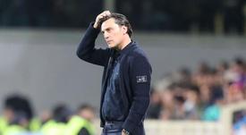 Montella will stay on at Fiorentina despite his winless run. GOAL