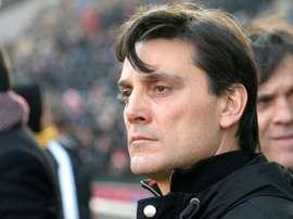 Milan head coach Vincenzo Montella. Goal