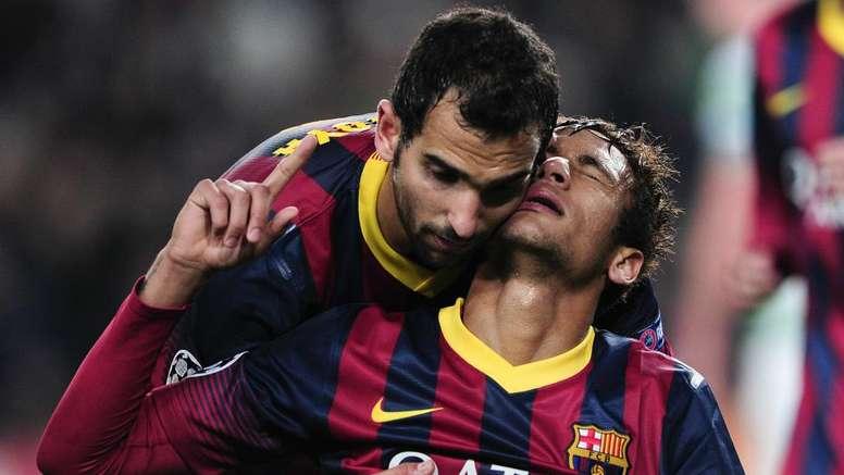 Montoya Neymar Barcelona. Goal