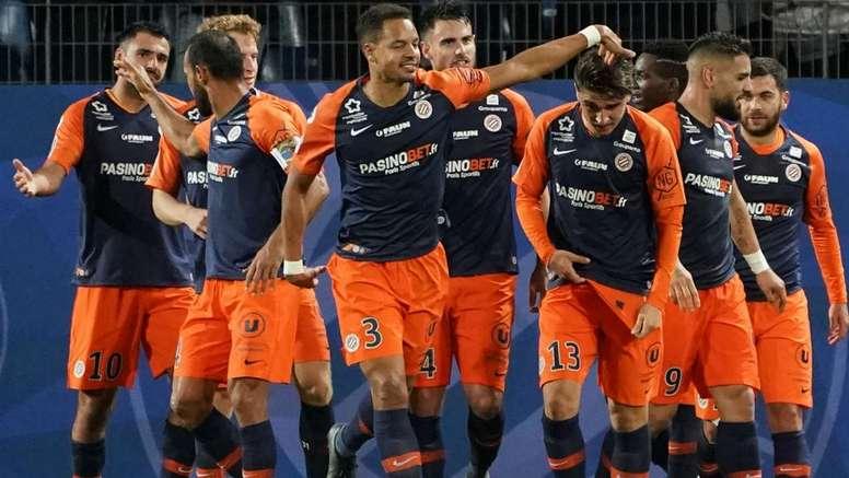 MHSC-TFC 3-0, la belle opération de Montpellier. AFP