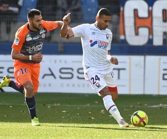 Montpellier l'emporte. Goal