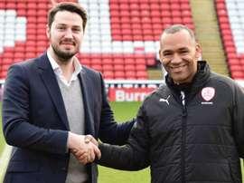 Morais is the new Barnsley boss. GOAL