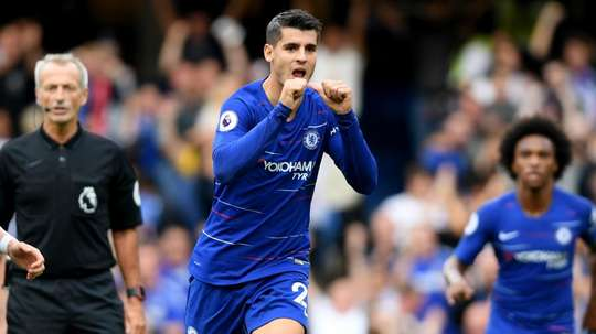 Morata insists he never considered leaving Chelsea. GOAL