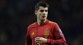 Morata moved to Juventus in the summer. GOAL