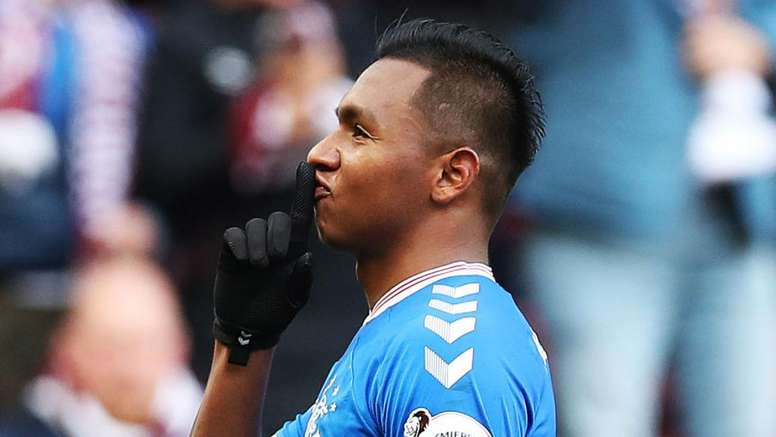 Hearts open investigation after Rangers striker Morelos allegedly suffers racist abuse. GOAL