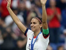 US World Cup winner Alex Morgan gives birth to first child