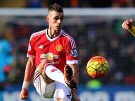 Morgan Schneiderlin sous le maillot de Manchester United en Premier League. Goal
