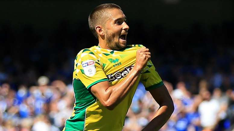 Leitner earned Norwich a point against Ipswich. GOAL