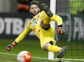 Mouez Hassen in action with Nice. Goal