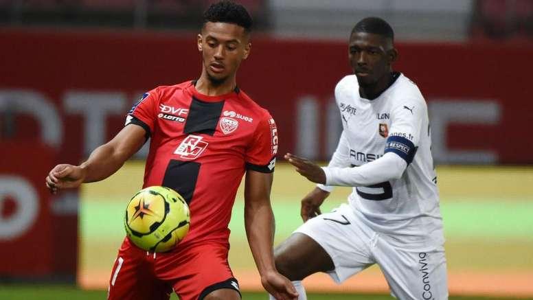 Dijon - Rennes (1-1), Rennes accroché de nouveau. afp
